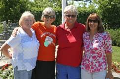 Bridget, Nancy, me, Kristen