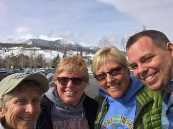 Colorado-2017 Lori, Claire, me, Dakota